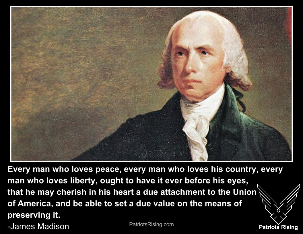 2Nd Amendment Quotes James Madison Archives  Patriots Rising