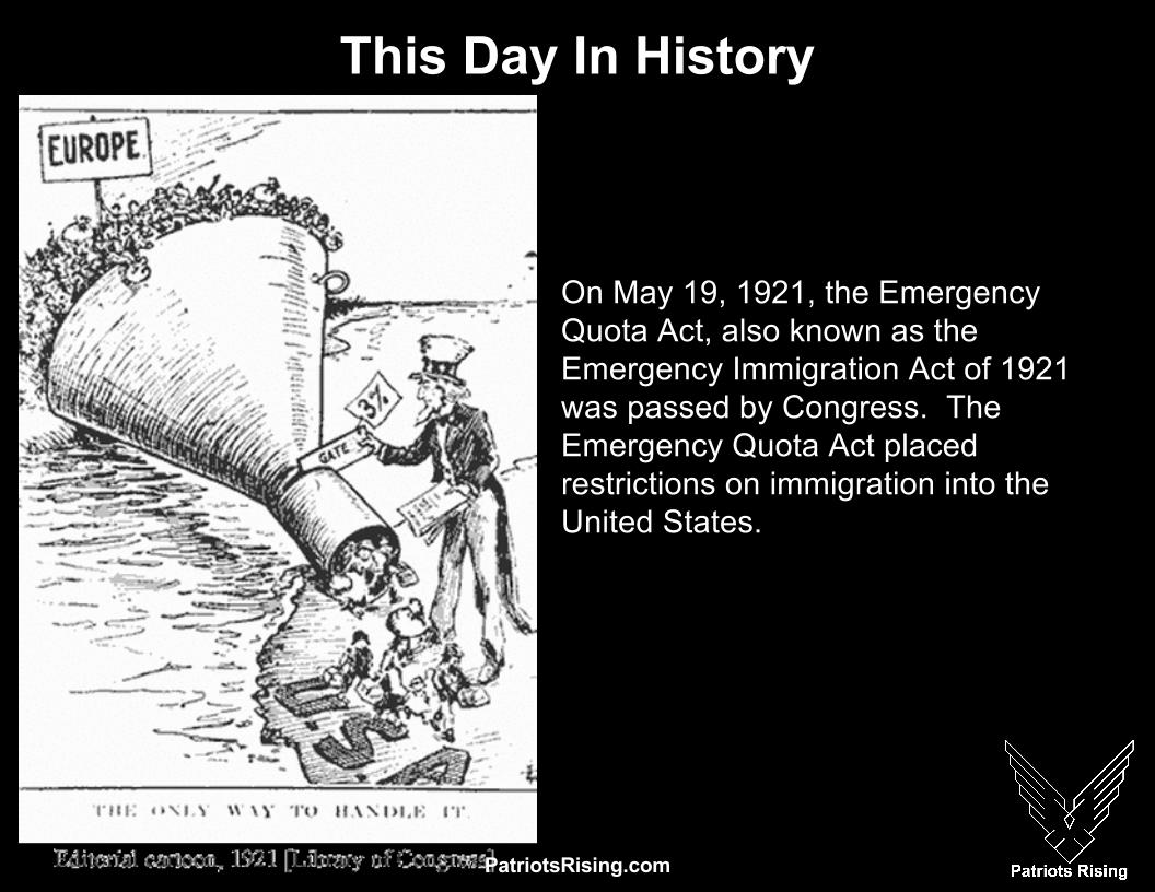 the effect of the the emergency quota act on the immigration in the 1920s List of united states immigration laws  emergency quota act:  an unintended consequence of the 1920s legislation was an increase in illegal immigration.